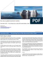 Global Market Outlook December 2011