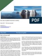 Global Market Outlook May 2013