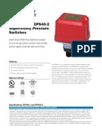 System Sensor EPS40 Data Sheet