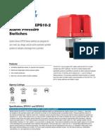 System Sensor EPS10-1 Data Sheet