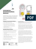 System Sensor Scw Clr Alert Data Sheet
