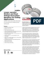 System Sensor SPCWK-R Data Sheet