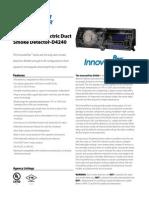 System Sensor D4240 Data Sheet
