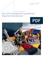 Aircraft Management Guidelines - Appendix 14. Interim guidance on night operations (Spanish translation)