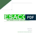 Esacco User Manual