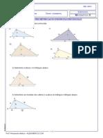Relações Métricas no triângulo retângulo alenumeros