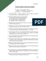 1a-Ejercicios de Interés y Descuento Simple