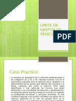 12 Limite de Gastos de Vehiculos