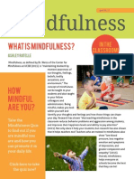 mindfulness info flyer
