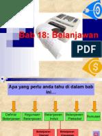 Bab 18 Belanjawan