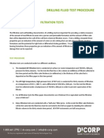 Filtration Tests