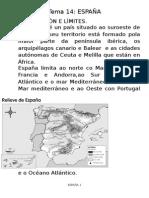 Tema 14 España