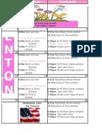 FNT May Classes