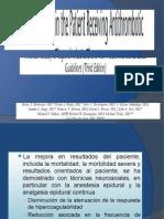 Anticoagulacion y Anestesia Regional