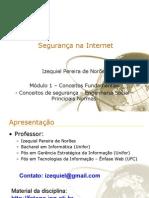 Segurança na Internet - módulo 1