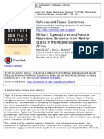 2 - Ali and Abdellatif - Military Expenditures and Natural Resources (ME and N Africa)
