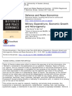 3 - Dunne and Tian - Military Expenditure, Economic Growth and Heterogeneity