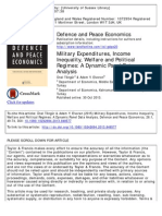 5 - Tongur and Elveren - Military Expenditures, Income Inequality, Welfare and Political Regimes