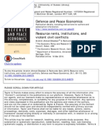 7 - Elbadawi and Soto - Resource Rents, Institutions, And Violent Civil Conflicts