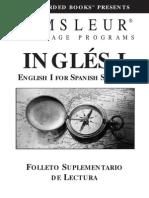 Esl Spanish i Book
