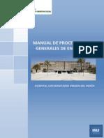 Procedimientos Generales Enfermeria HUVR