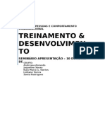 Seminario t&d Conteúdo Sobre Treinamento