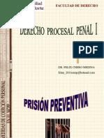 Prisión Preventiva-Dr. Félix Chero Medina