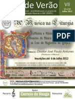 2011/12 Curso de Verão - cartaz