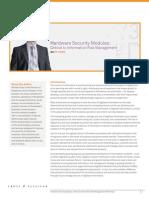 HSM CriticaltoInformationRiskManagement WP (en) Web