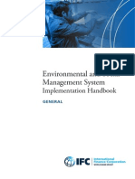 Environmental and Social Management System (ESMS) Implementation Handbook - GENERAL