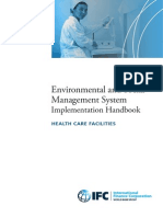 Environmental and Social Management System (ESMS) Implementation Handbook - HEALTH CARE FACILITIES