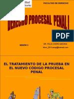Tratamiento de la Prueba en el Proceso Penal