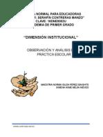 Dimensión Institucional, Charo Michoacán 15Abril2015