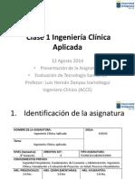 Clase 1 Ingeniería Clínica Aplicada Present,-STE