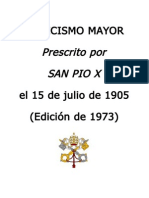 Catecismo Mayor de San Pio X