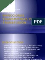 Infecciones Transmitidas Por Transfusión