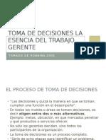 La Toma de Decisiones 29.04