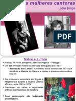 Lídia Jorge - A Noite Das Mulheres Cantoras RESUMO