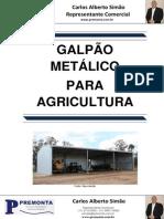 Galpão Metálico Para Agricultura