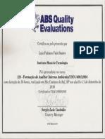 Auditor Interno Ambiental 14001:2004