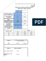 Is 10262 (2009) Excel Sheet