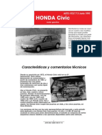 HONDA CIVIC DATOS TECNICOS