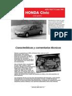 HONDA CIVIC DATOS TECNICOS