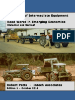 Handbook of Intermediate Equipment for Road Works in Emerging Economies (Selection and Costing)