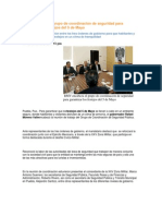 30-04-2015 Puebla Noticias - RMV Encabeza El Grupo de Coordinación de Seguridad Para Garantizar Los Festejos Del 5 de Mayo