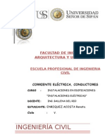 Corriente Electrica y Conductores