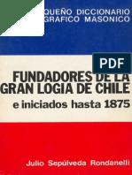 fundadores de la gran logia Chile