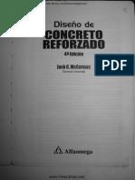 Diseño de Concreto Reforzado - 4ta Edición - Jack C. McCormac