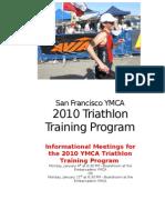 2010 Triathlon Training Program