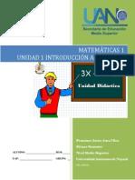 Unidad 1 Introducción Al Álgebra